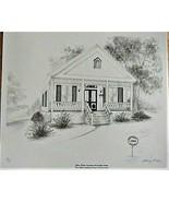 Oldest Home JOHN THOM LAWSON-STIREWALT Drawing Nancy Bell 10/15 Local Artist - $50.00