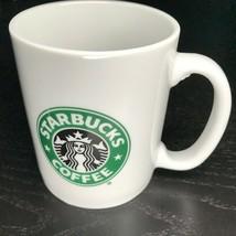 Starbucks Classic Mermaid Old Logo White Coffee Mug 12 oz Made in Taiwan - $5.74