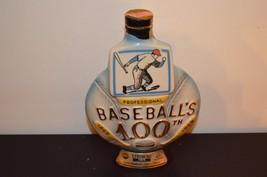 JIM BEAM PROFESSIONAL BASEBALL 100th ANNIVERSARY 1969 WHISKEY DECANTER T... - $19.80
