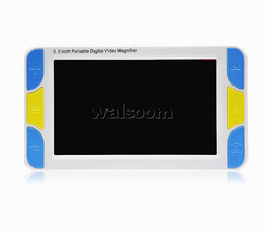 "Low Vision Reading Aid 5"" Screen Handheld Digital Magnifier Far Near Vis... - $161.69"