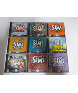 Lot of 9 The Sims CD Roms - $37.39