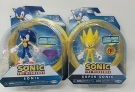 "Sonic the Hedgehog Wave 3 Jakks Pacific 4"" Articulated Figures Full Set Lot of 2 - $47.49"