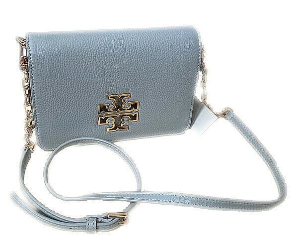 Tory Burch Women's Britten Combo Crossbody Bag, Seltzer, OS, 8978-6 image 2