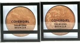 2 Ct Covergirl 0.1 Oz TruBlend 200 Bronze Perfect Natural Glow Oil Free Bronzer - $24.99