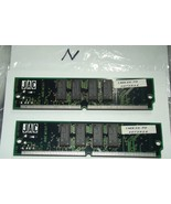 2 matching 72 Pin SIMM with Tin connectors 12 module  1MX36-70 SIMM - $14.85