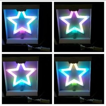 Brand New WondershopTarget Color Changing LED Lit Tree Topper 40 Lights ... - $23.64