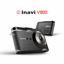 "INavi V900 2ch Super Clear HD 3.5"" Full Touch LCD Car Dash Cam Black Box 16GB image 1"