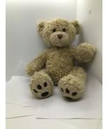 "Build-A-Bear Brown Tan Curly Haired Teddy Bear Toy Stuffed Animal Plush 15"" - $16.34"