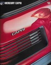 1986 Mercury CAPRI brochure catalog US 86 GS 5.0L ASC McLaren convertible - $10.00