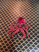 Beautiful vintage octopus nautical brooch - $7.00