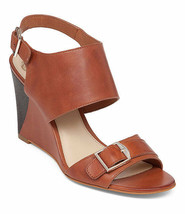 Vince Camuto Xylina Wedge Sandals Women Sizes 6.5-10 Tobacco New Vache VC-XYLINA - $89.95