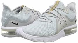 HERREN Nike Air Max Sequent 3 Schuhe Platinum Schwarz Weiß 921694 008$ 100 - $59.98