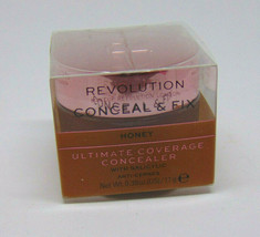 MAKEUP REVOLUTION CONCEAL & FIX Concealer with Salicylic Honey 0.39oz/11g - $12.82