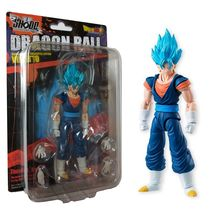 "Bandai Shokugan Shodo Dragon Ball SS Blue Vejito  4"" Action Figure Vegetto - $44.00"