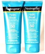 2 Count Neutrogena 88ml Hydro Boost SPF 50 With Helioplex Water Gel Suns... - $35.99