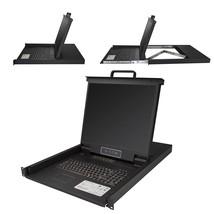 StarTech 16 Port Rackmount KVM Console w/ 6ft Cables - Integrated KVM Sw... - $2,159.99