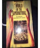 World of the Supernatural - Alchemy: Dreams of Gold VHS Time Life Video NEW - $29.58