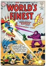 WORLDS FINEST #134 1963-WILD COVER-BATMAN-SUPERMAN VG - $31.53