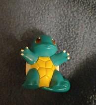 Vintage Pokémon Squirtle Figure Original Tomy 1998 Rare Pocket Monsters #7 Gen 1 - $9.49