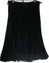Black Velvet Midi Fit & Flare Womans Skirt Unlined Plus size 18 (XL) Vin... - $15.67