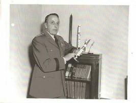 Photo General Lemnitzer Holding A Missile Photo Copy #1 - $6.93
