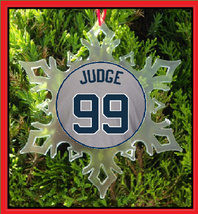 Judge Christmas Ornament - All Rise - Judge Jersey - $12.95