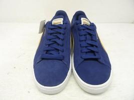 Puma Women's Suede Classic Sport Casual Shoes Blue/Brown Size 5.5M - $47.49