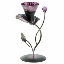 Lilac Lily Pad Tealight Candle Holder - $11.56