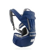 Breathable Ergonomic Baby Carrier Backpack(6612 Navy Blue) - $36.66