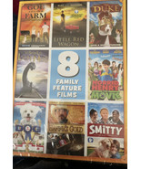 8 Feature Family Films Action Features DVD Brand New Factory Sealed - $6.31