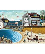 Buffalo Games Charles Wysocki, Clammers at Hodge's - 1000pc Jigsaw Puzzle - $79.99