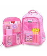 Children Backpack Waterproof Multi Function Orthopedics Teenager Kids Gi... - $44.07+