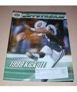 NFL New York JETS Jetstrean Magazine Summer 1999 Kickoff Football Magazi... - $2.99