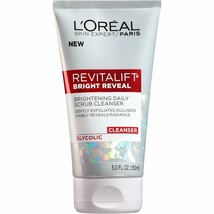 L'Oreal Paris Skincare Revitalift Bright Reveal Facial Cleanser with Glycolic Ac - $8.59