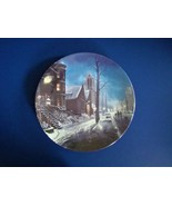 W.S. George A Winter Ride Decorative Plate from Hometown Memories by H.T... - $9.99