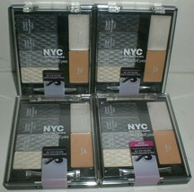 NYC New York Color Individual Eyes Shadow #944 Smokey Charcoals Lot of 4... - $23.36