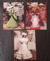 Lot 3 Vtg The Needlecraft Shop leaflet Crochet Ladies of Fashion Marie A... - $9.99
