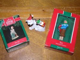 Estate Lot of 3 Hallmark Keepsake TINY TIM Son Polar Bear with Penguin Christmas - $9.49
