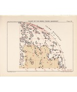 Antique Astronomy MOON QUADRANT Vintage Print Plate 1925 Ball's Guide to... - $18.60