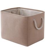 TheWarmHome Fabric Basket for Storage Basket for Organizing Dog Toy Bask... - $17.99+