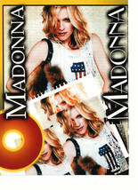 Madonna teen magazine pinup clipping I'm number 1 USA girl Rockline Bop  - $3.50