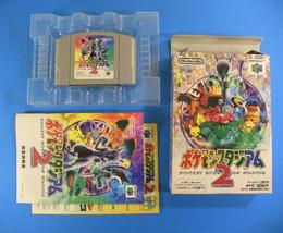 Pokemon Stadium 2 ~ Complete in Box CIB (Nintendo 64 N64, 1999) Japan - $21.05