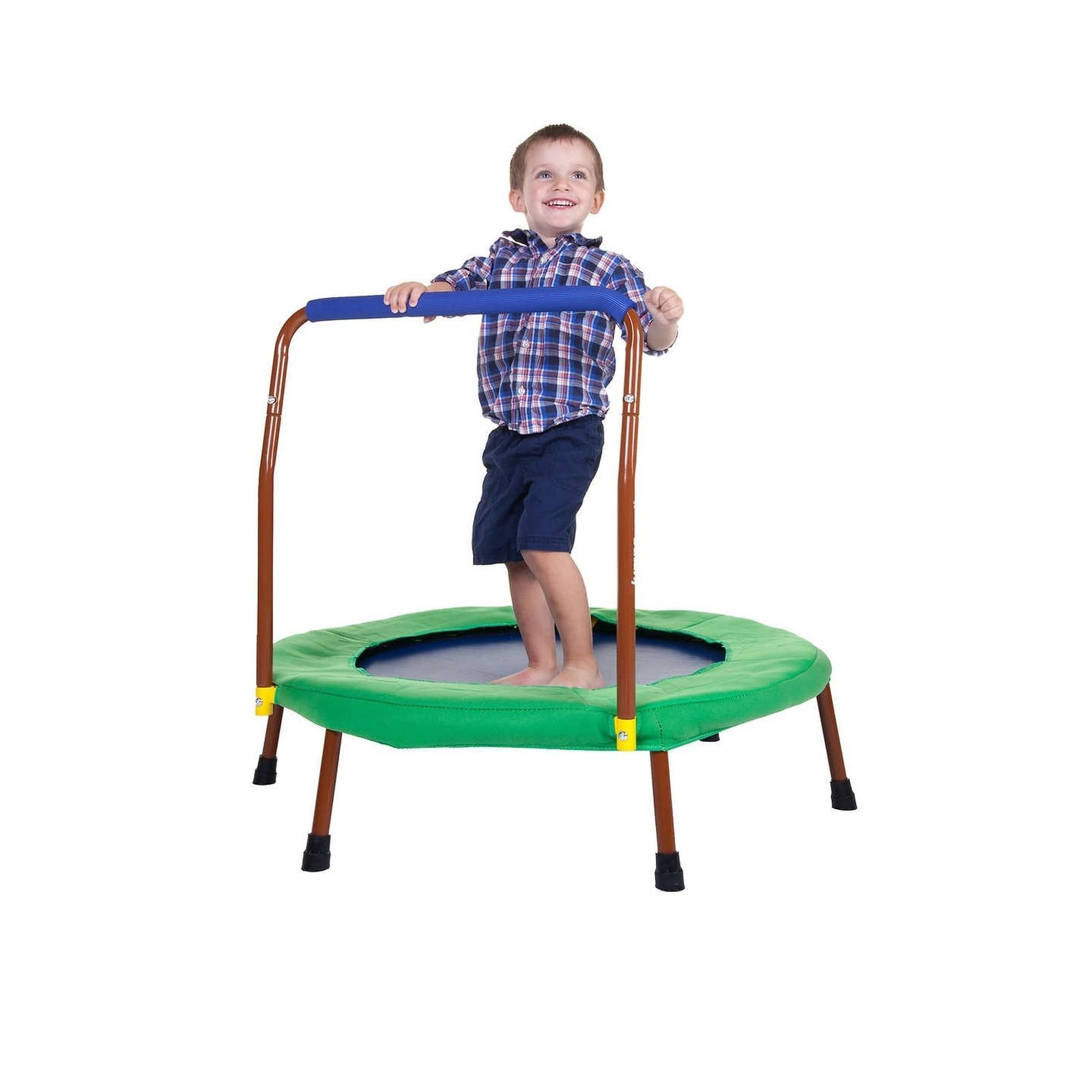 JumpSport IBounce TOO Kids Trampoline Bundle New