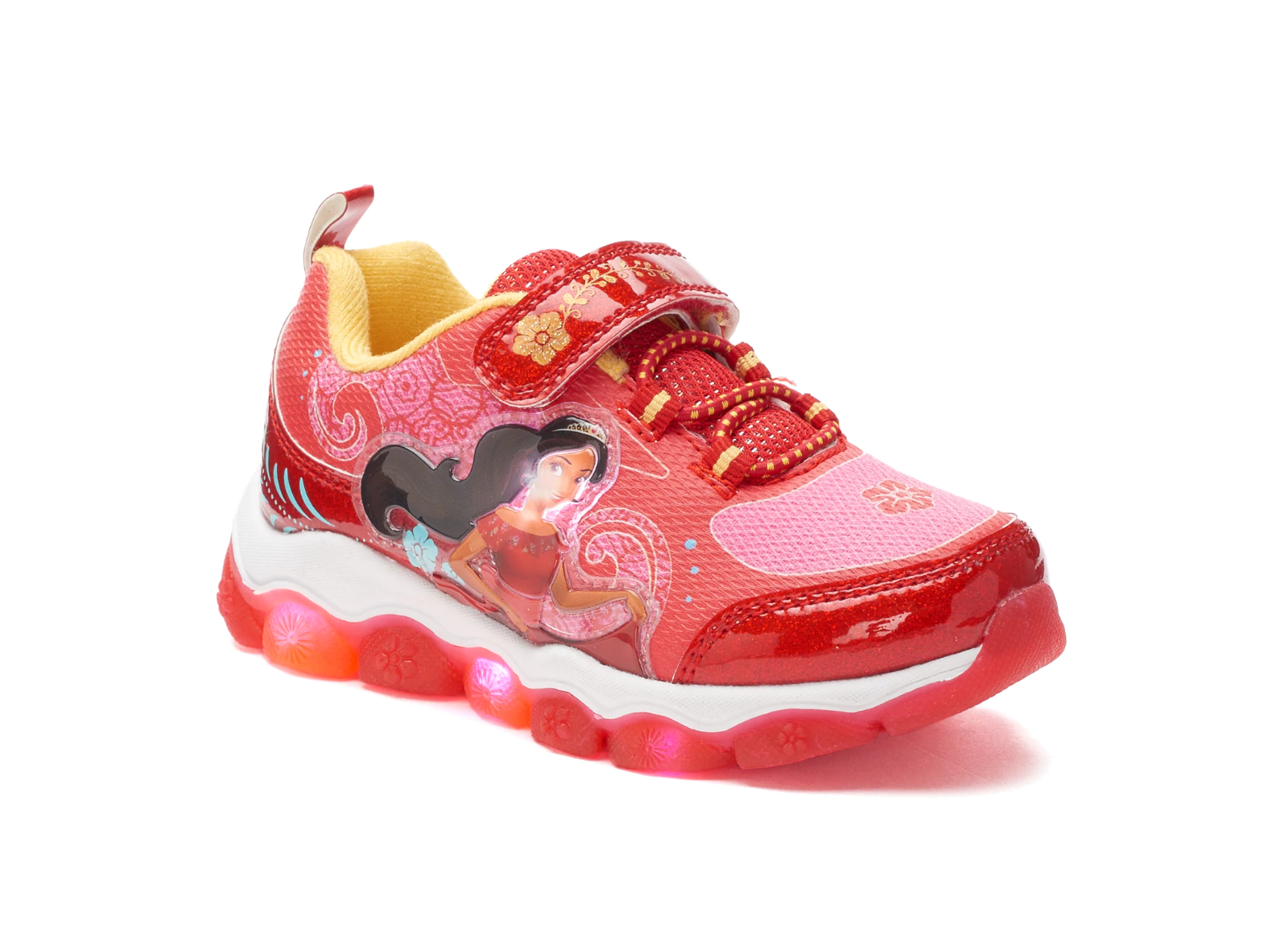 Minnie Mouse Light Up Sneakers Size 11 or Defect 12 Disney Athletic Shoes