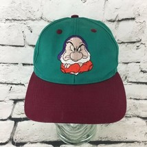Disney Snow White And The Seven Dwarfs Youth OS GRUMPY Hat Snapback Ball... - $14.84