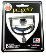 Paige Capo  6 string  Black  P6E - $25.50