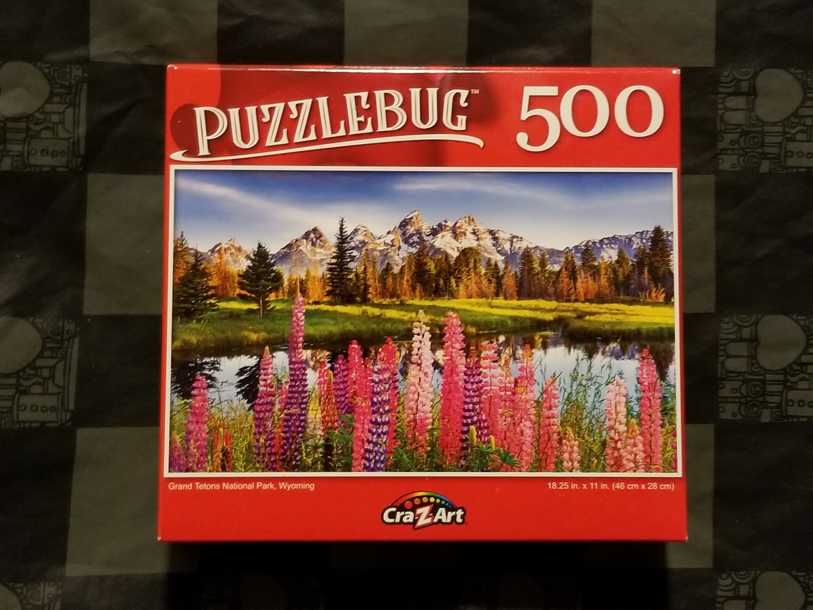 Cra-Z-Art Puzzlebug 500 Piece Puzzle - Grand Tentons National Park