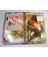 Steg the Stegosaurus 1994 McDonald's TY Beanie Baby With Tag Errors C2806 - $14.54