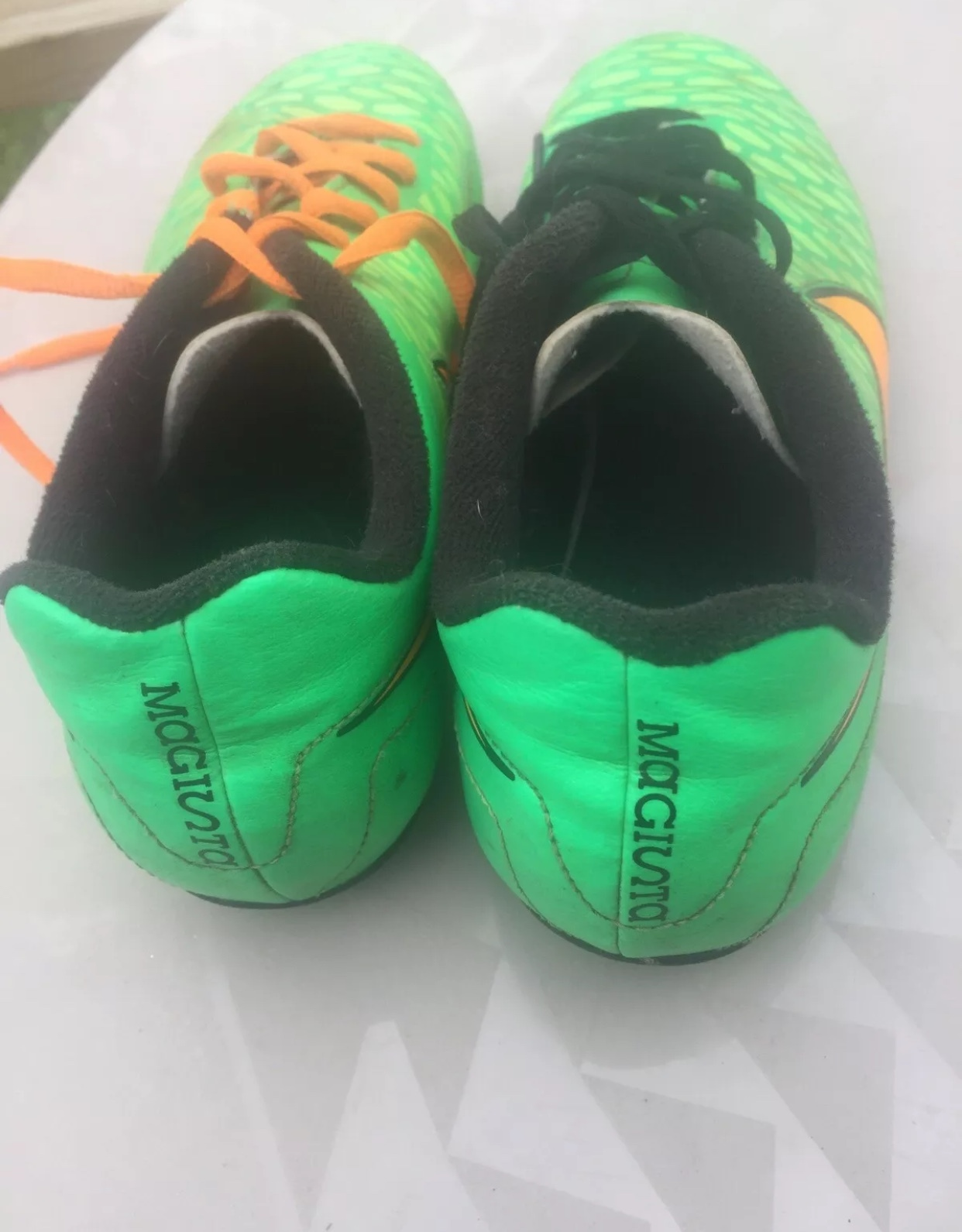 nike magista onda green soccer shoes cleats 4.5 snake alligator crocodile croc