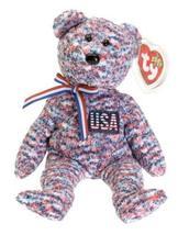 Ty Beanie Babies - USA Bear - $0.99